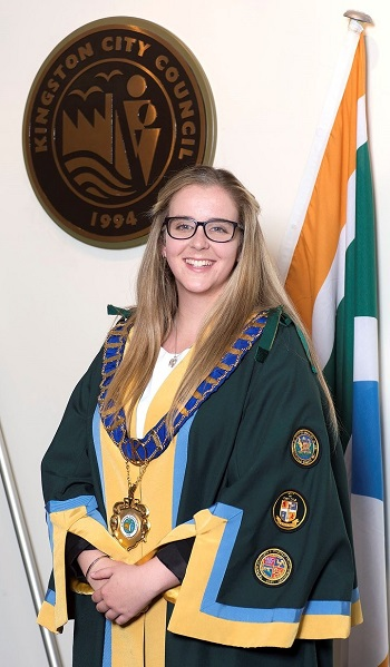 Cr Georgina Oxley, Mayor of the City of Kingston