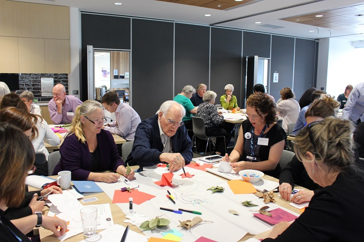 Group activity at the Age Friendly Cities Australia 3rd National Forum
