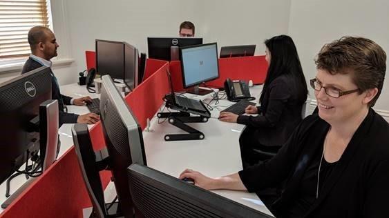 Staff using Google Chrome